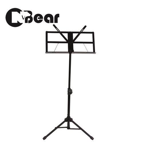 CNBear K-106B 中型專業譜架 黑色款 台製品牌【敦煌樂器】