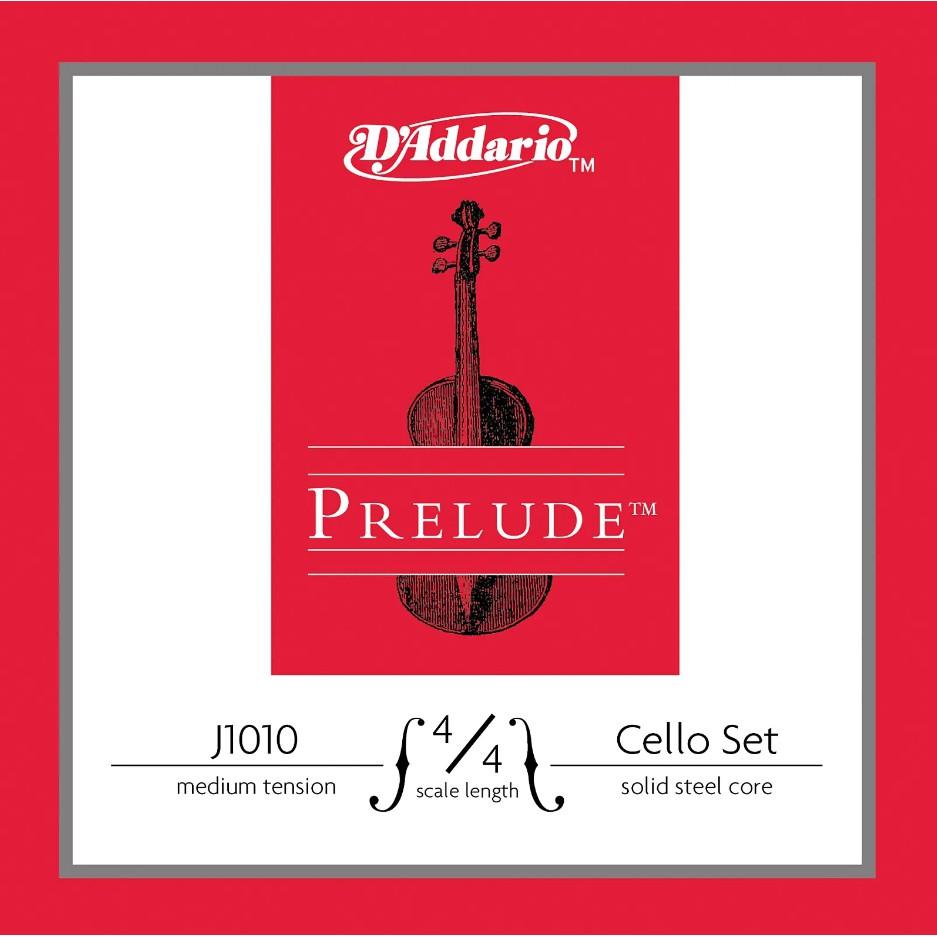 【嘟嘟牛奶糖】美國 D'Addario J1010 Prelude大提琴弦 4/4 中等張力