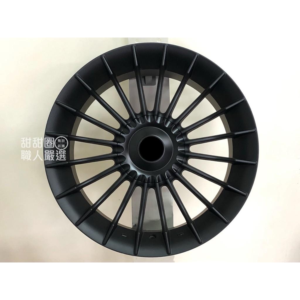 【甜甜圈】ALPINA S449 17吋5H120消光黑鋁圈 BMW E46/E90/F30/E39/E60/F10適用