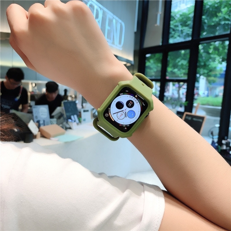 Apple Watch 4 / Apple Watch 5 [44Mm] 的錶帶 + 保護套, 帶有 Apple Wat