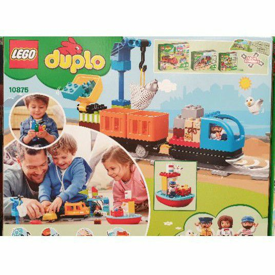 💥好評推薦💥好市多代購-樂高LEGO 10875 Duplo 得寶系列 - 貨運列車 兒童樂高 專注力 建構