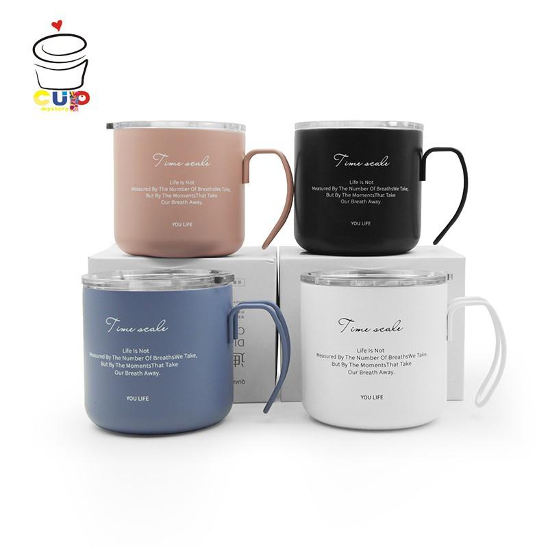 nUS CupMystery进口时尚休闲保温保冷咖啡杯学生办公室工作人员保温杯