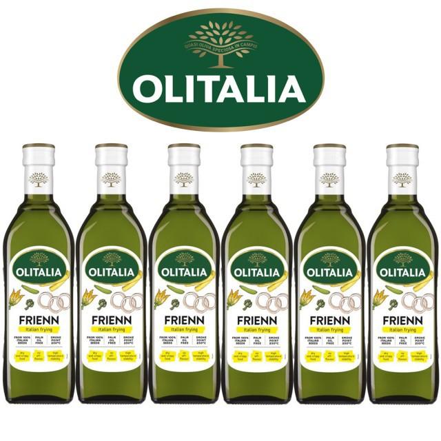 代訂MOMO購物 4427064 【Olitalia奧利塔】高溫專用葵花油禮盒組(750mlx6瓶)