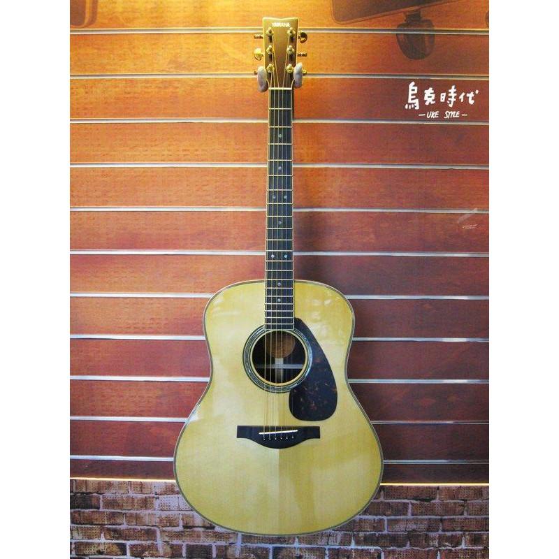 YAMAHA LL16ARE BSB 民謠木吉他 咖啡漸層色