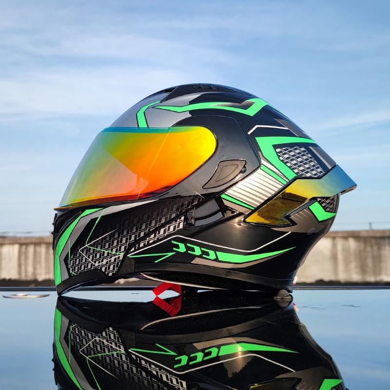 🔥新品熱賣🔥 🍹Orz頭盔男女電動摩托安全帽 機車頭盔 全罩安全帽半罩安全帽 賽車 騎士 防撞 防摔 全罩式安全帽