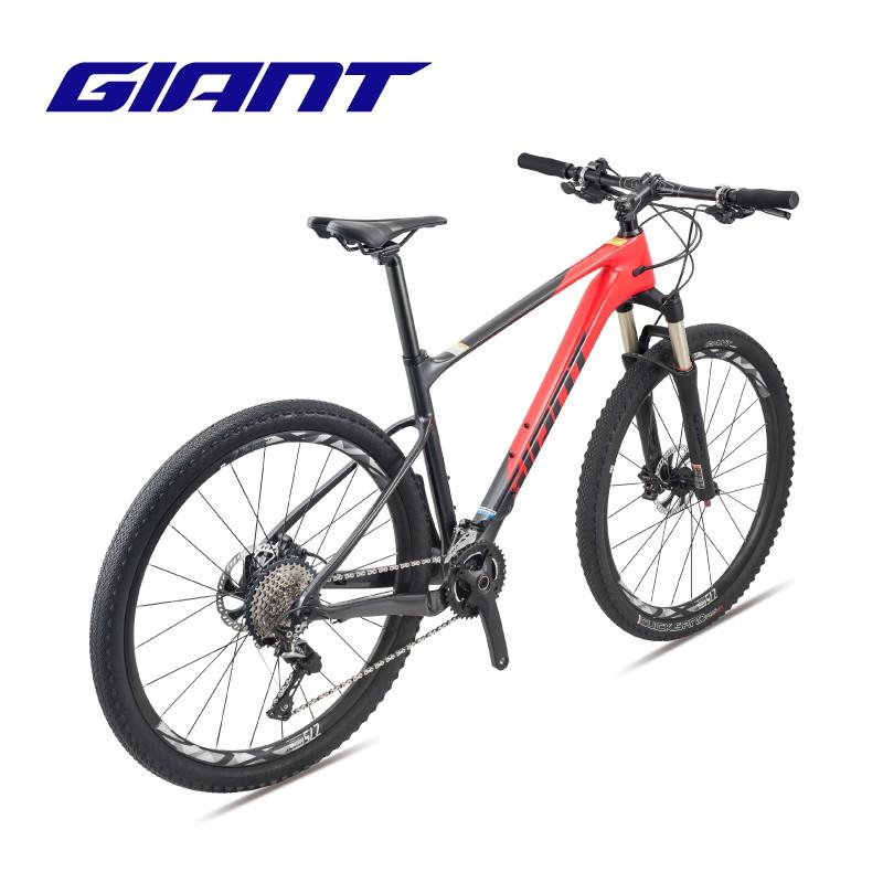 ❡☾ﺴGIANT捷安特XTC Advanced 3 單避震22速碳纖維XC越野山地自行車