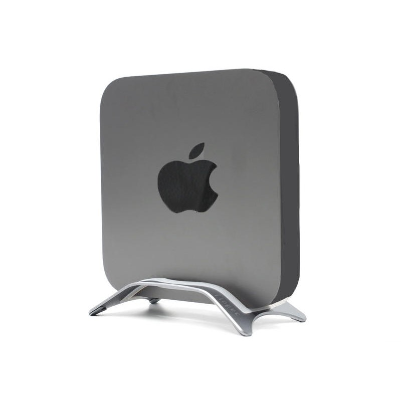 (讓您的Mac Mini可以堅挺屹立不搖!)Mac Mini主機支架_支援全系列機型_站立式底座_鋁合金_助散熱_固定