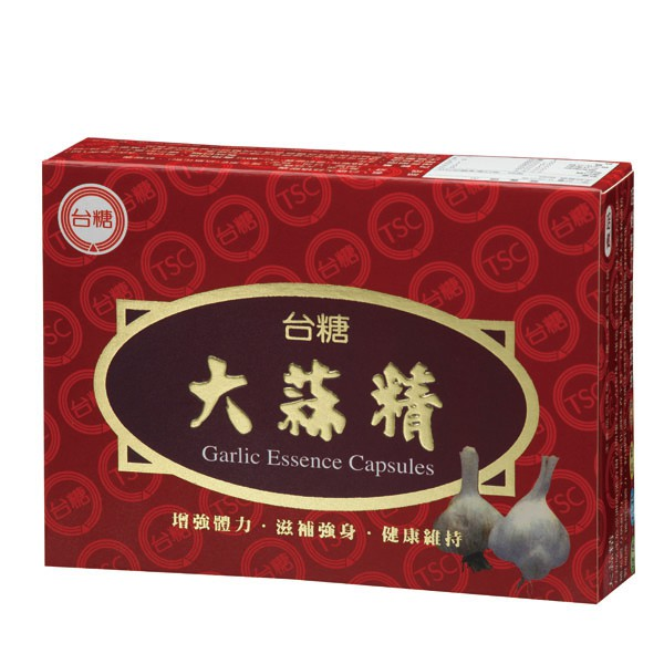 台糖大蒜精膠囊60粒/盒  【大潤發】