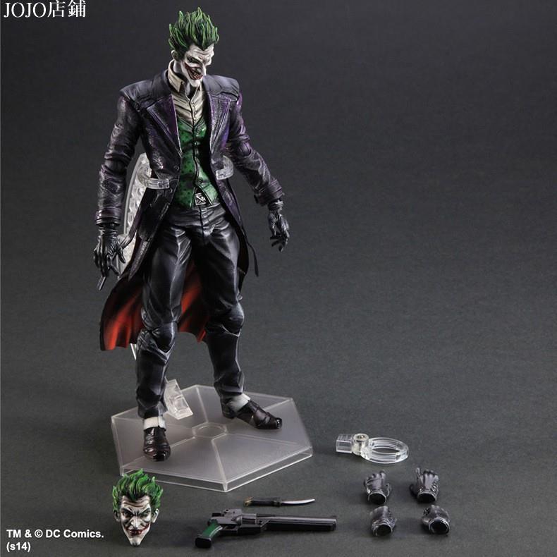 JOJO店鋪Play arts PA改 小丑 Joker 蝙蝠俠 BATMAN DC英雄 黑