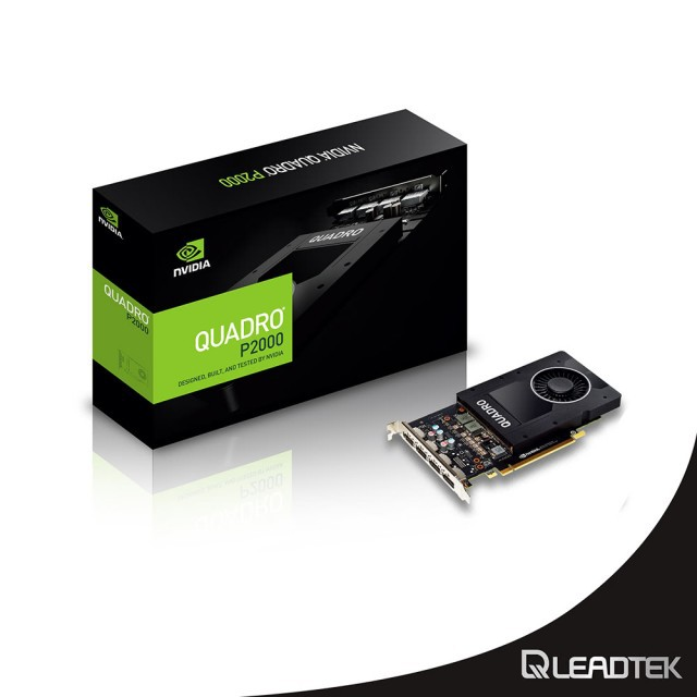 【麗臺 Leadtek】NVIDIA Quadro P2000 專業繪圖卡