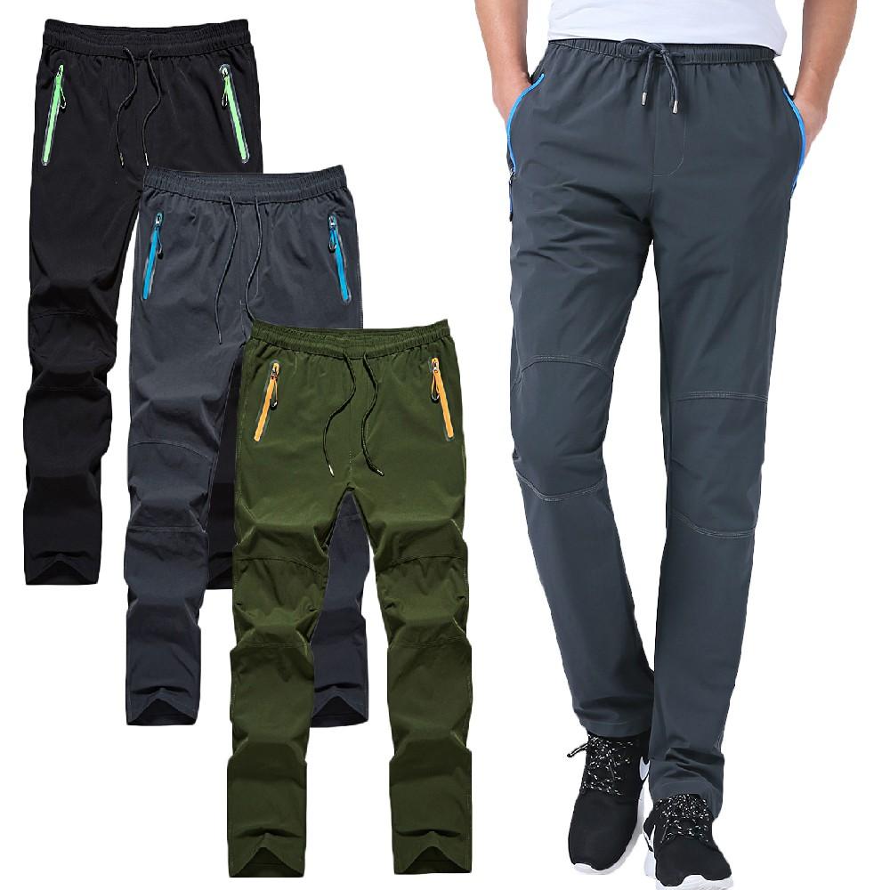 【NEW FORCE】輕薄防水潑抗刮耐磨速乾衝鋒褲男女款/五色可選