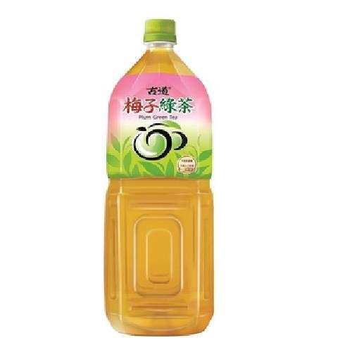 古道 梅子綠茶(2000ml/瓶)[大買家]