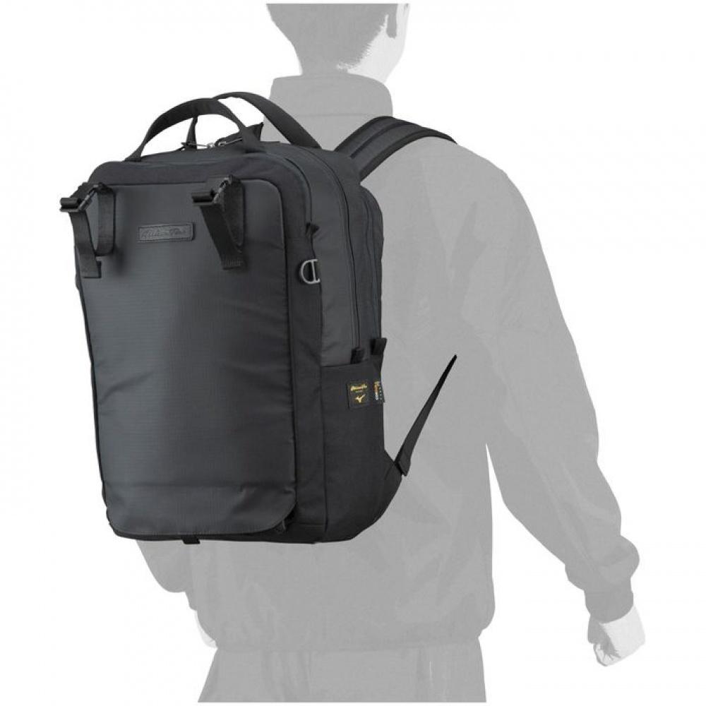 日本原裝進口~美津濃 MIZUNO PRO 軍規防水CORDURA布料 上班族背包 旅行背包(1FJD190109)