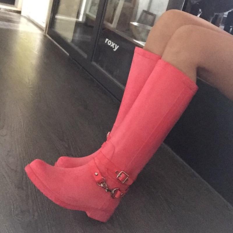 Coach boots 雨靴/雨鞋/長統靴(美國帶回)