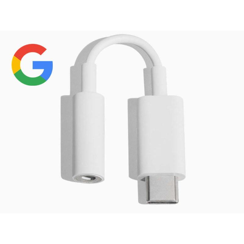 原廠谷歌 Google手機轉接頭 pixel2/3/plxel4XL耳機適配器 USB-C音頻設備 OTG 轉接器