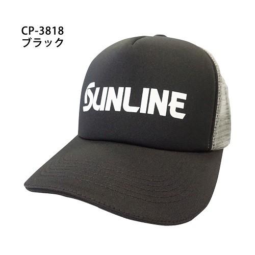 SUNLINE CP-3818【海天龍釣具商城】黑色網帽 棒球帽 鴨舌帽 釣魚帽子 休閒帽