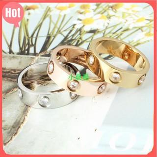 小晨晨卡地亞 戒指 Cartier 卡地亞 滿鑽 LOVE系列戒指窄版戒指專櫃正品定製採用進口5A鋯石 新北市