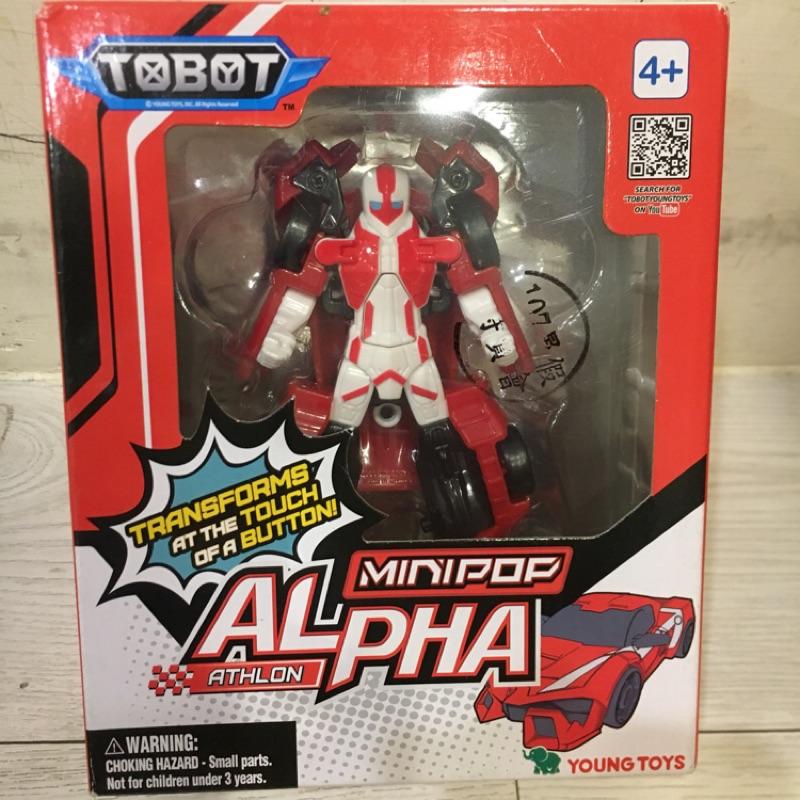 機器戰士tobot mini alpha