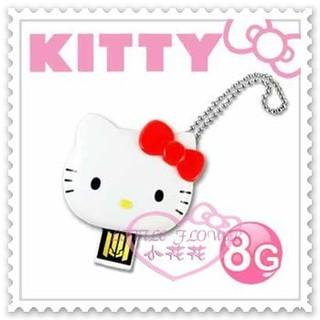 ♥小公主日本精品♥Hello Kitty USB隨身碟辦公室必備大臉立體蝴蝶結造型紅色8GB台灣製 21079702 新北市
