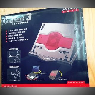 【JETART 捷藝科技】CoolStand3 多段角度可旋轉人體工學筆電散熱器 NC6000 臺北市