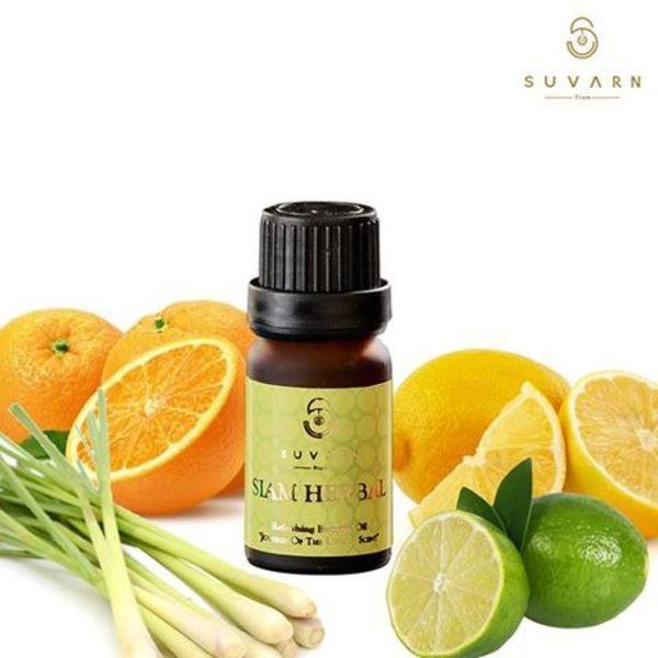 【Suvarn 】 暹羅草本-Siam Herbal 天然草本植萃精油10ML