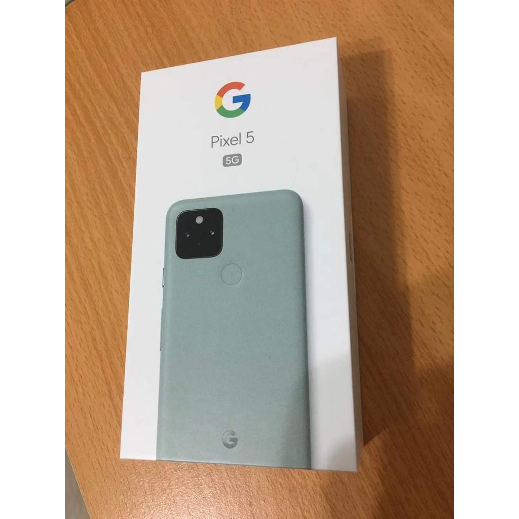現貨 Google Pixel 5 灰綠色 8G/128G 未開機新品 (可面交)