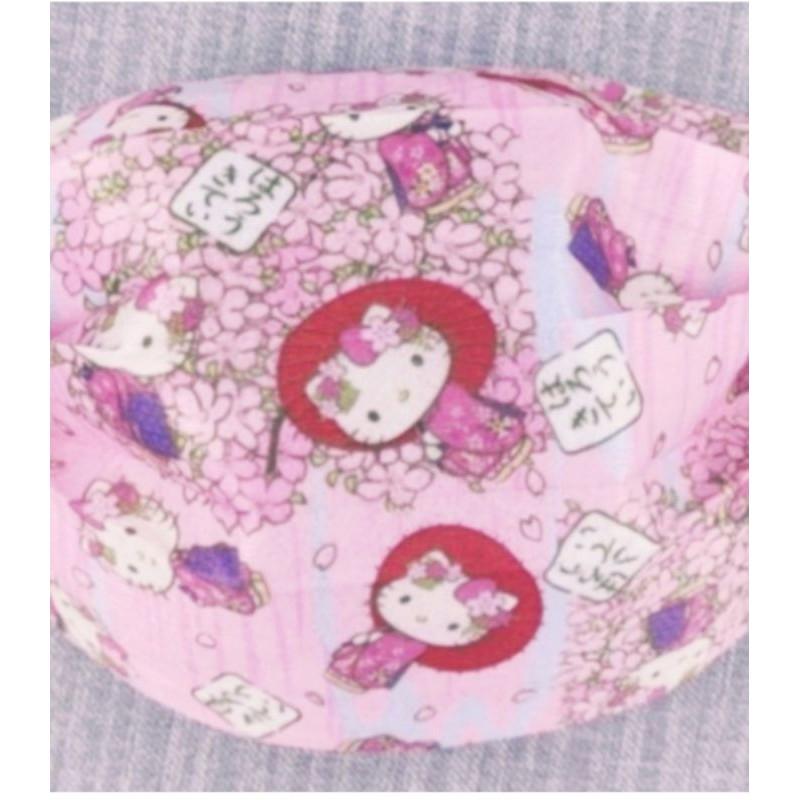 🔥現貨 熱賣🔥 [ Kitty 口罩 ]  Hello Kitty  ( 櫻花 和服 款) 卡通口罩(非醫療用) 成人款