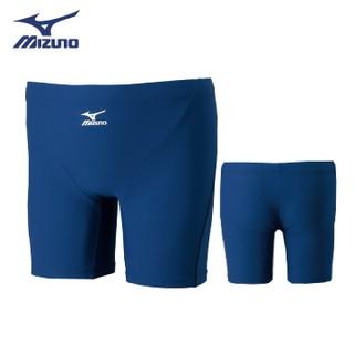 壯男的店 MIZUNO 美津濃 85UA-30014 基本款 BASIC男四角泳褲 / 丈青 尺碼 S-XXL