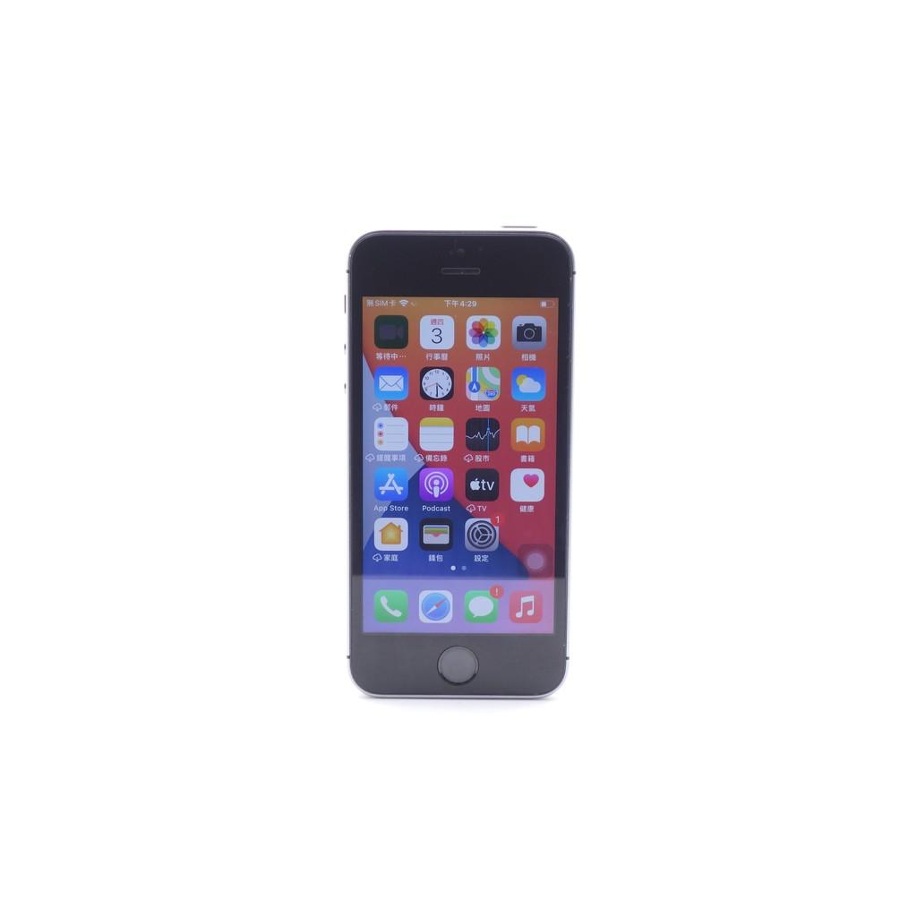 【台中青蘋果】Apple iPhone SE 太空灰 16G 16GB 二手 4吋 蘋果手機 #54904