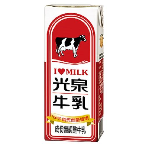 【光泉】百分之百無添加 全脂保久乳(12罐/24罐)