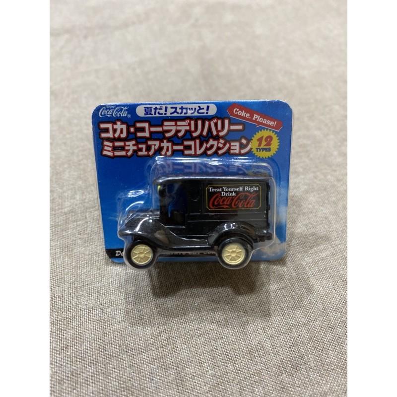 未拆)可口可樂 復古 老爺車 模型車 玩具車 非 tomica 非賣品