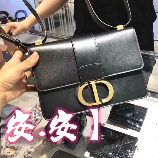 【安安】全新正品Dior 迪奧 M9203UMOS 30 Montaigne CD子母翻蓋牛皮 蒙田包 肩背包精品小方包