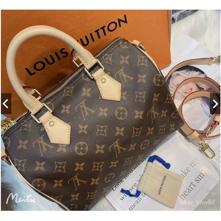 鑫原專櫃正品 Louis Vuitton LV SPEEDY BANDOULIÈRE 25 附背帶 手提包 M41113