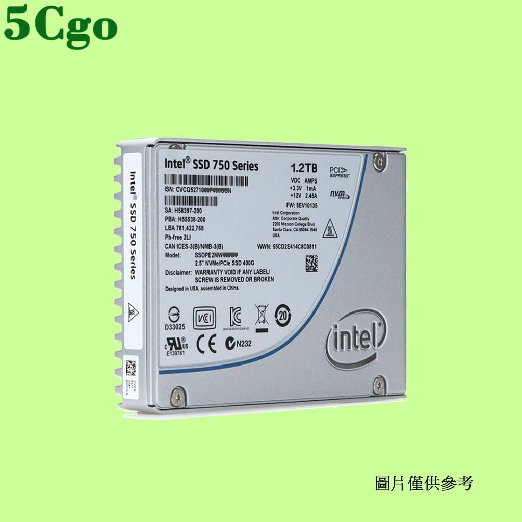 5Cgo【含稅】Intel英特爾750 400G 800G 1.2T固態硬碟SSD NVMe U.2 PCIe高速穩定