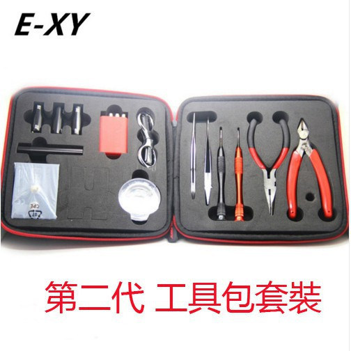 ┋♞℗E-XY 第二代工具套裝 DIY工具包2代 繞線器套装 發熱絲 歐姆機 鑷子套装