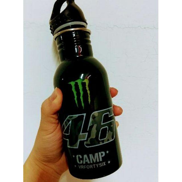 Monster water metal bottle 魔爪 爪子 運動 贊助商 飲料 金屬 水壺 Rossi 羅西小舖