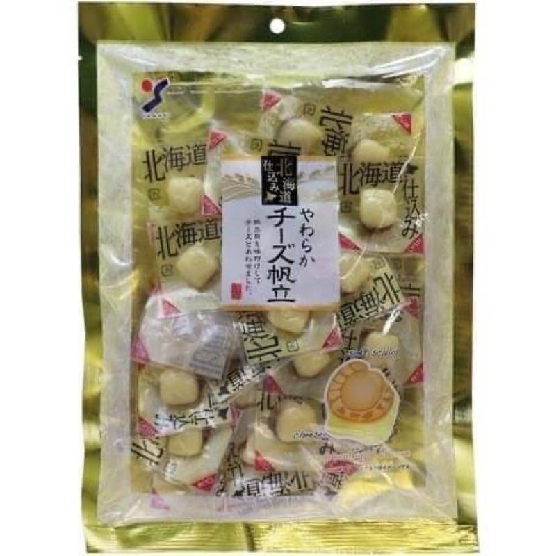 ⚠️現貨中⚠️ 日本🇯🇵山榮 北海道 起司帆立貝 起司魷魚 120g