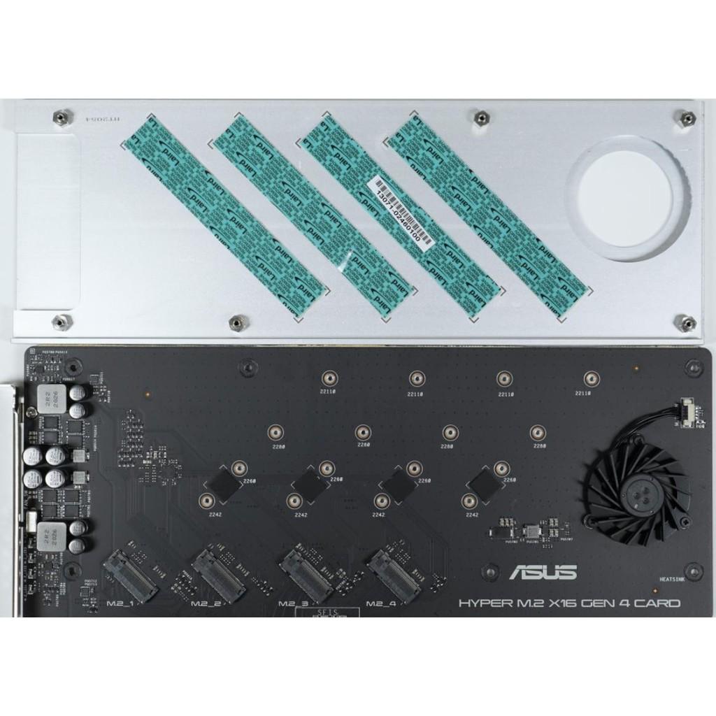 ASUS HYPER M.2 X16 Gen 4 儲存卡