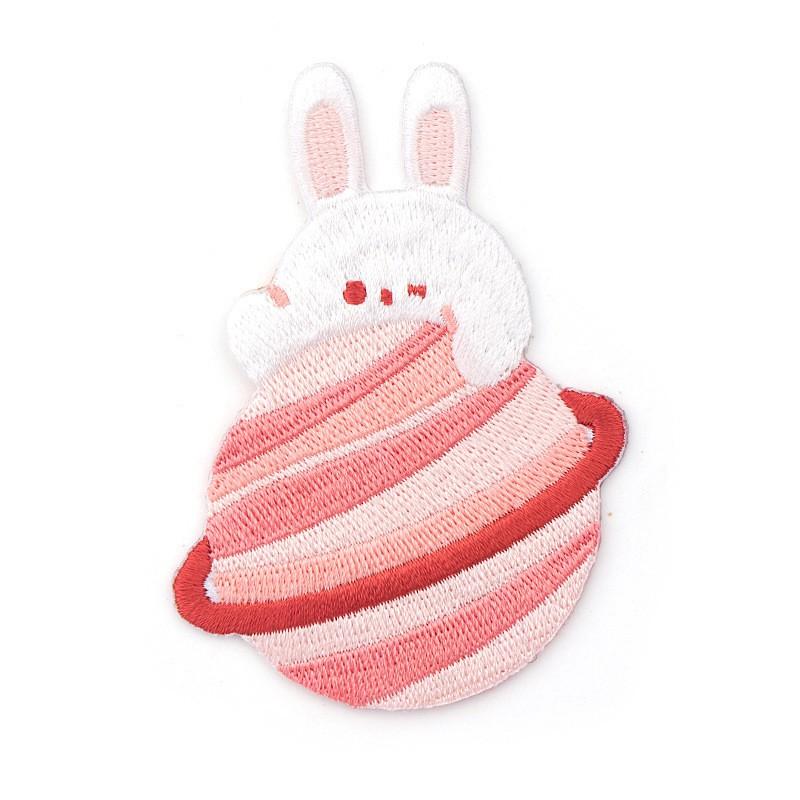 FUFUBAG-補丁-我的星球刺繡布貼/補丁/徽章/布章/兔子/熊熊-共2色