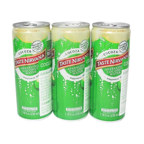 COCOZA NIRVANA 椰子氣泡水24瓶/箱