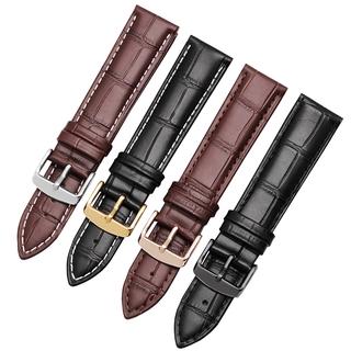真皮手錶帶代用卡西歐MTP-1303 1375 LTP-V007L-7E1男士牛皮錶鍊