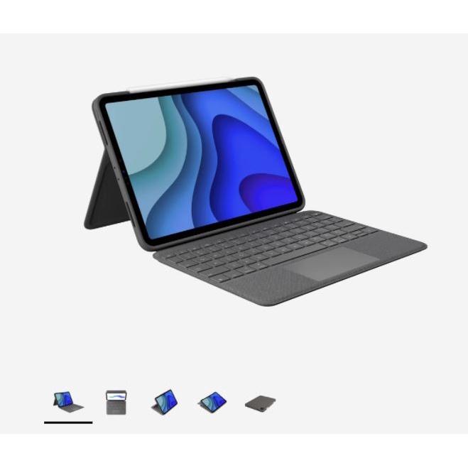 【預購】羅技Logitech FOLIO TOUCH巧控鍵盤2021 iPad Pro 11三代/Air四代