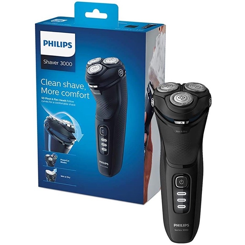Philips Shaver3000全新未拆電動刮鬍刀 (飛利浦)