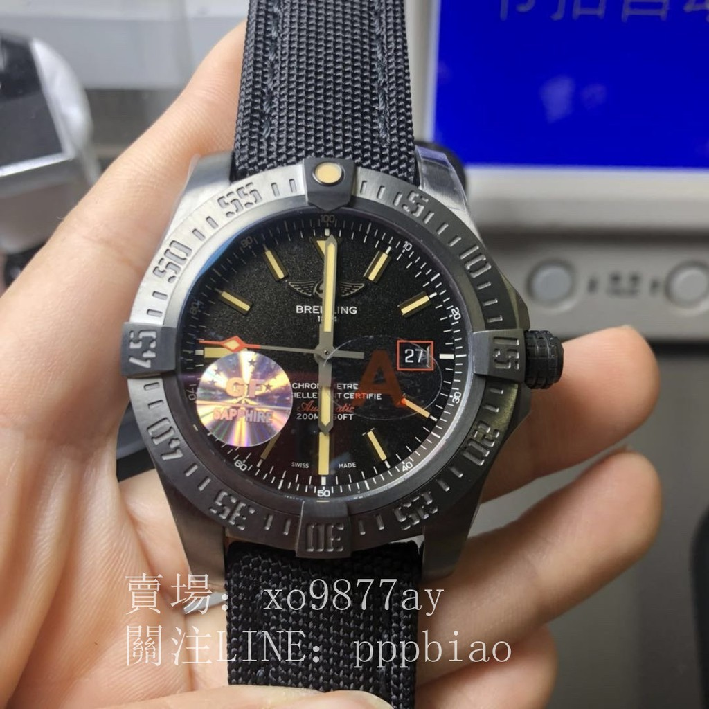 現貨GF V4版 Breitling 復仇者 A3239011
