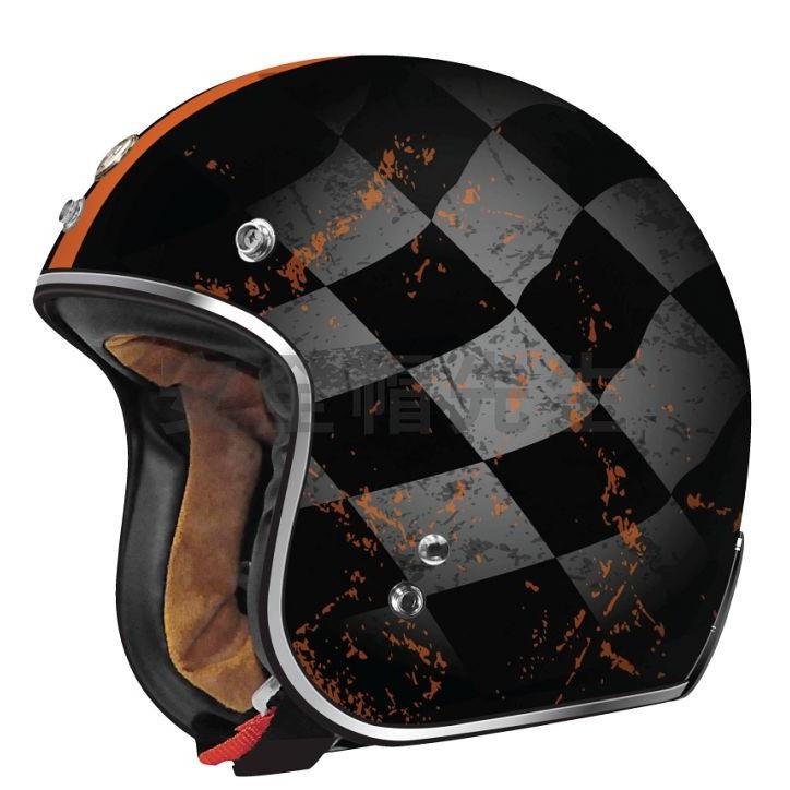 【安全帽先生】美國 TORC T50 彩繪 FINALE 消光 哈雷 雙D扣 復古帽 半罩