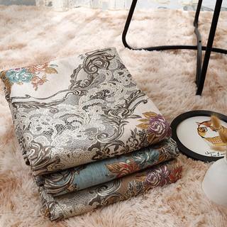 新款【真昕】歐式奢華雪尼爾提花布料面料防滑四季布藝餐椅桌布沙發坐墊巾加厚