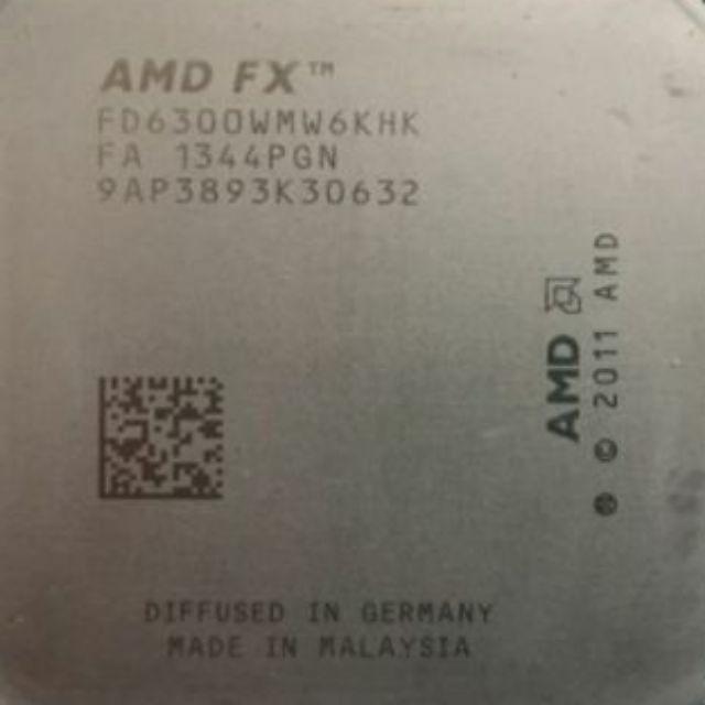 AMD FX-6300六核心CPU/剩一顆