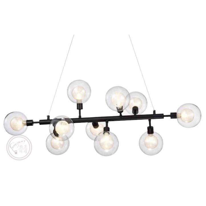 【精選×明耀】現代設計風格/造型星空氣泡吊燈-H
