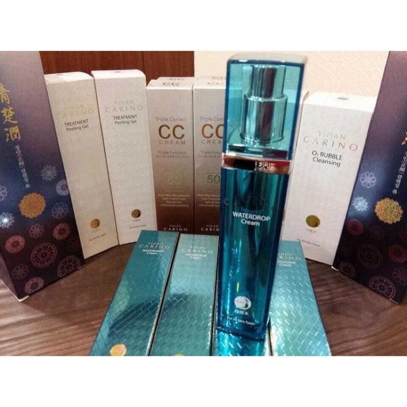 ✨韓國Carino✨麗仁堂地漿水Waterdrop Cream三合一保濕乳霜50ml