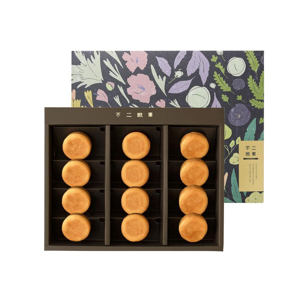 【不二緻果-高雄不二家-】 12入鳳梨酥禮盒